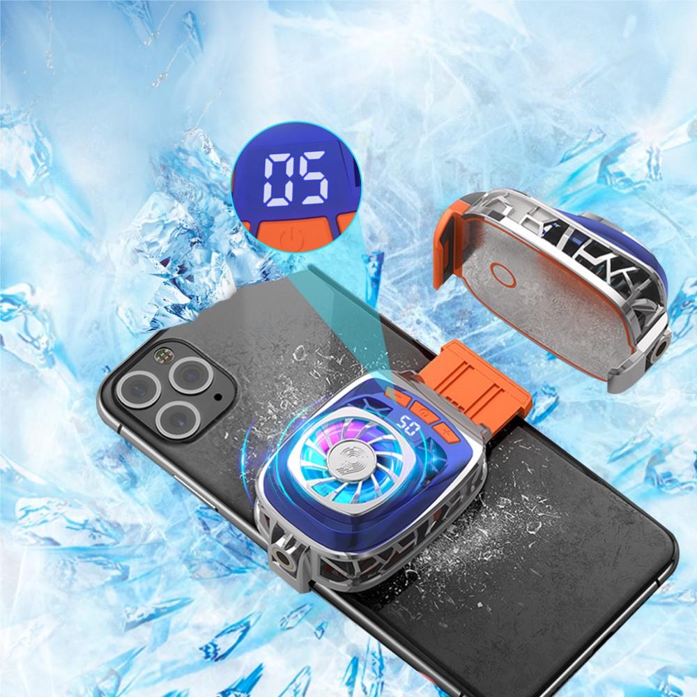 Bộ tản nhiệt điện thoại di động Peltier BT-02 với Pad làm lạnh lớn và màn hình LED điều chỉnh nhiệt độ