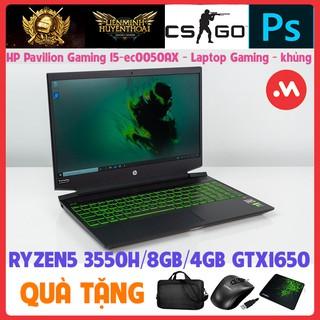 HP Pavilion Gaming 15 ec0050AX R5 3550H 8GB 16GB GTX1650 Win10, laptop cũ chơi game và đồ họa Nặng - Hàng nhập khẩu USA thumbnail