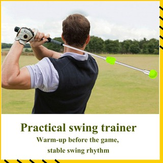 Gậy tập golf có thể điều chỉnh thanh xoay trọng lượng thiết kế tiện dụng mềm mại và thoải mái thumbnail