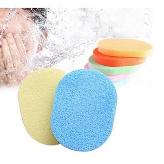 Xốp rửa mặt mềm mại nhiều màu sắc tiện lợi dễ sử dụng thumbnail