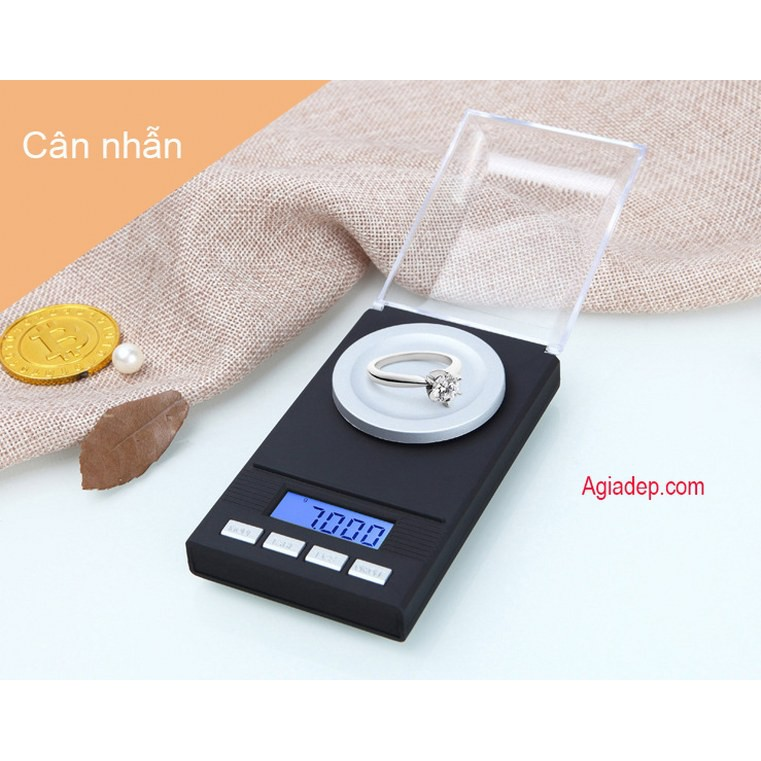 Cân tiểu ly siêu chính xác đến miligram dải cân 100g - 0.001g (Cân vàng bạc đá quí v.v.) - hàng VIP