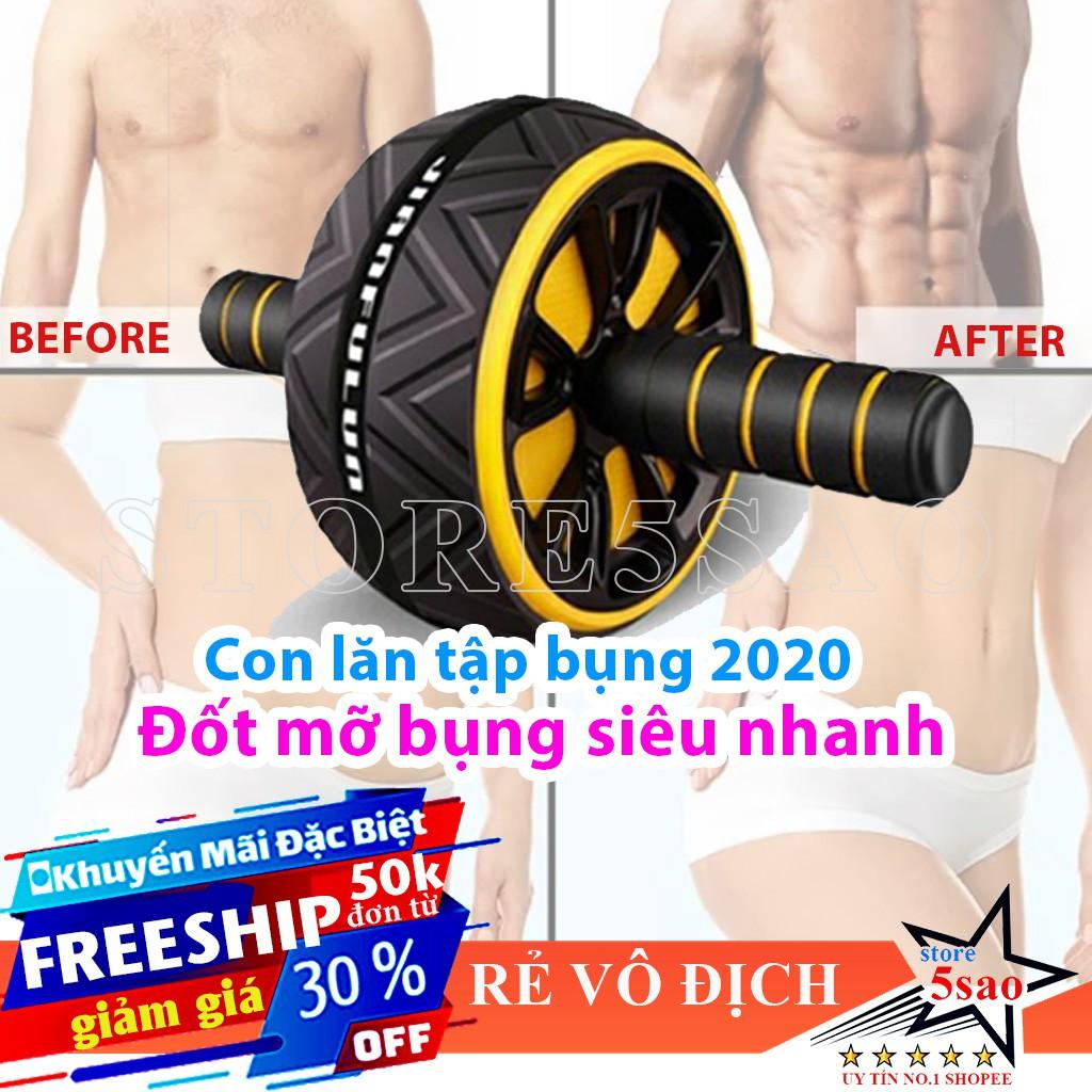 Con lăn tập cơ bụng 1 bánh cao cấp ❤️ BÁN CHẠY ❤️ Máy tập bụng giảm cân đốt mỡ bụng hiệu quả tập gym tại nhà