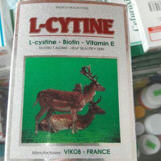 Viên uống đẹp da , tóc L- Cystine thumbnail