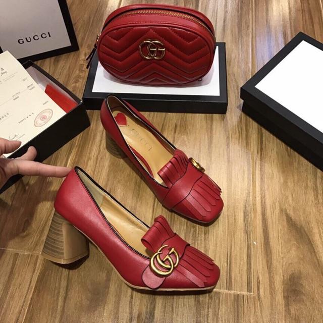 👠👠👠 Giày Cao Gót Gucci Ho