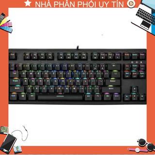 Bàn phím cơ E-Dra EK387 RGB + Tặng máy hút bụi phím Mini