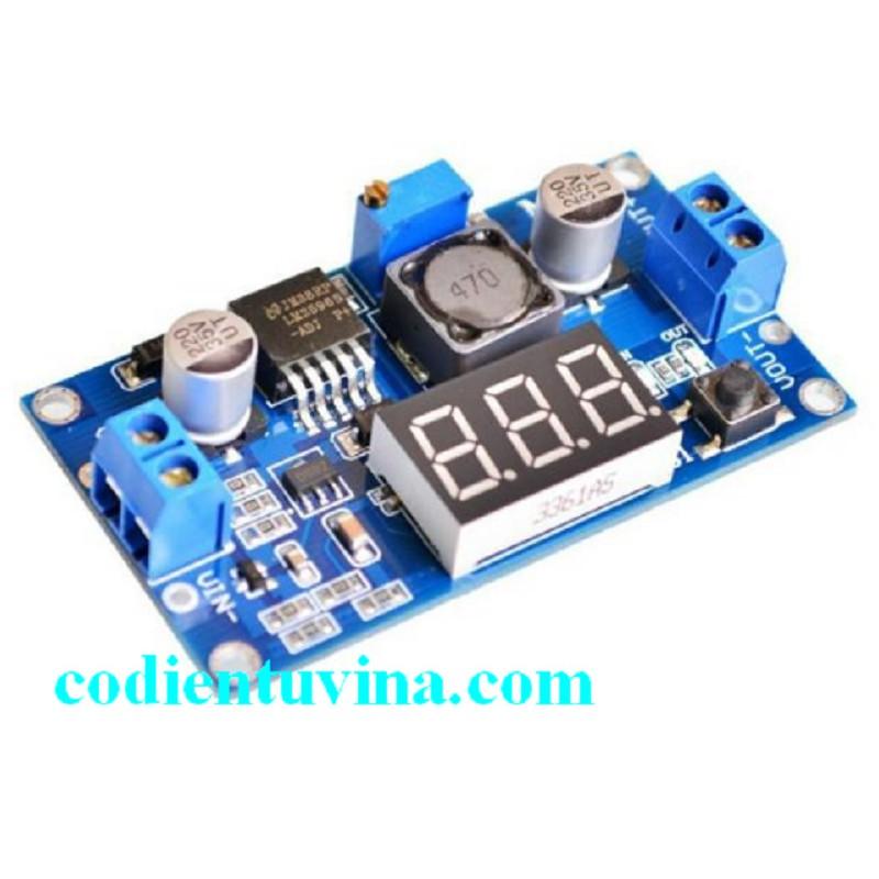 Mạch giảm áp LM2596 có LED hiển thị - 3520467 , 1060869715 , 322_1060869715 , 85000 , Mach-giam-ap-LM2596-co-LED-hien-thi-322_1060869715 , shopee.vn , Mạch giảm áp LM2596 có LED hiển thị