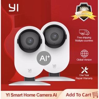 [Bản Quốc tế ]Bộ 2 Camera IP giám sát Yi Home Camera 1080p tích hợp công nghệ ai+ phát hiện con người vật nuôi thumbnail