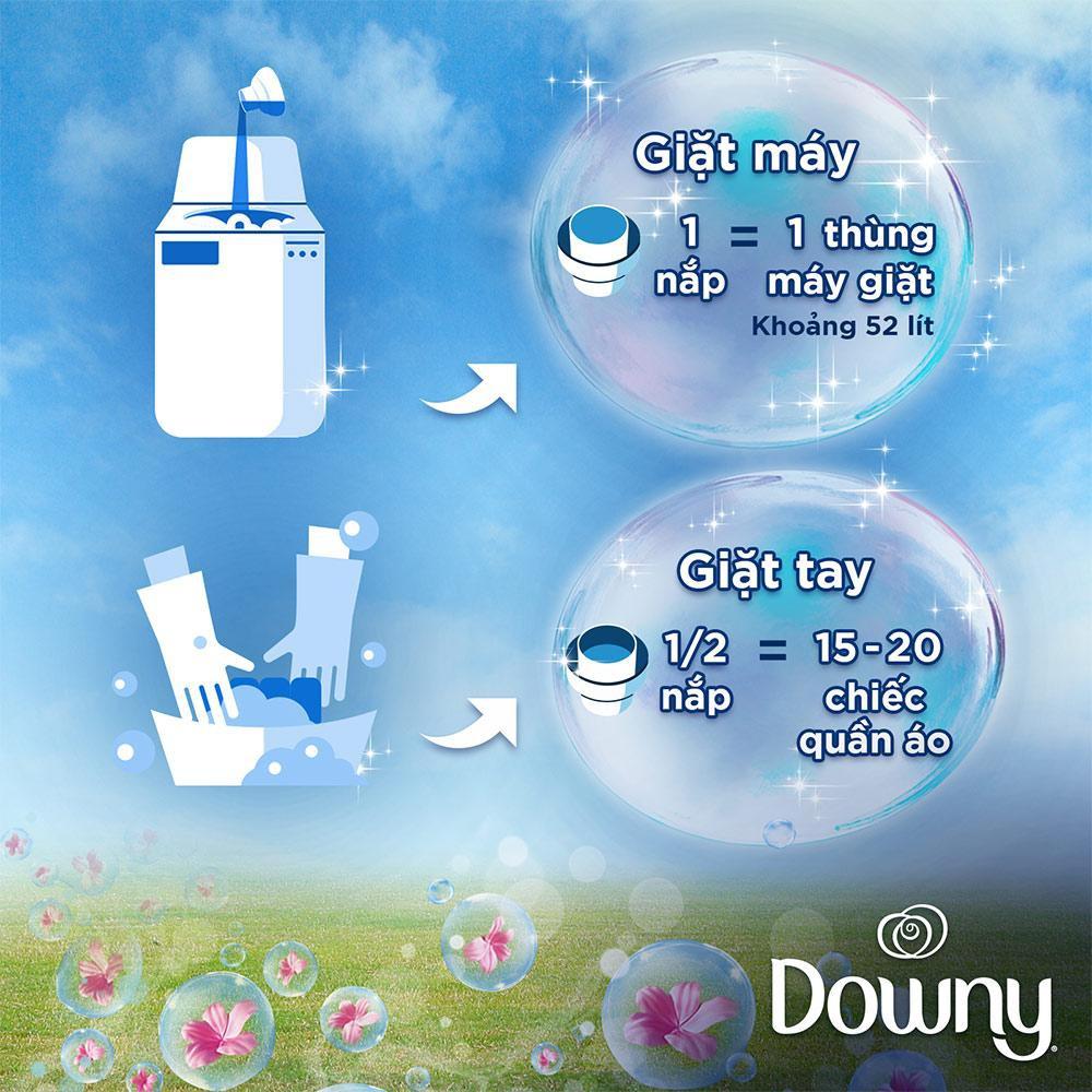 Nước xả vải Downy Expert Thể Thao đậm đặc 2.4L