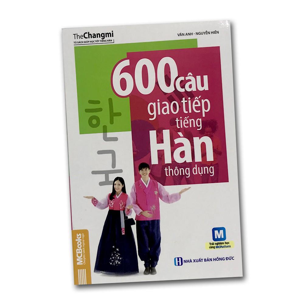 Sách - 600 câu giao tiếp tiếng Hàn thông dụng - 14069413 , 2014062853 , 322_2014062853 , 75000 , Sach-600-cau-giao-tiep-tieng-Han-thong-dung-322_2014062853 , shopee.vn , Sách - 600 câu giao tiếp tiếng Hàn thông dụng