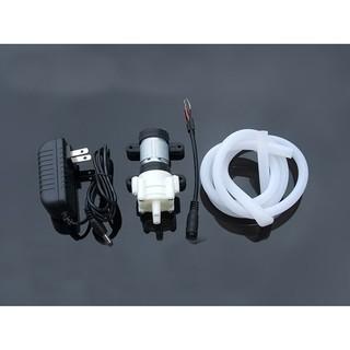 Bộ máy bơm nước mini 12v