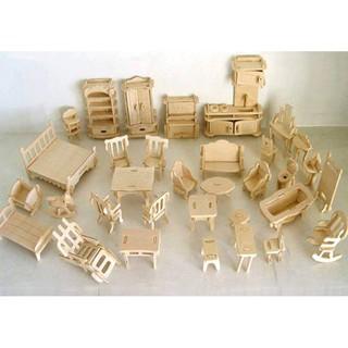 [Nhập mã TOY11FES10 giảm 10%][FREESHIP TỪ 99K]Bộ ghép hình 3D bằng gỗ 184 chi tiết