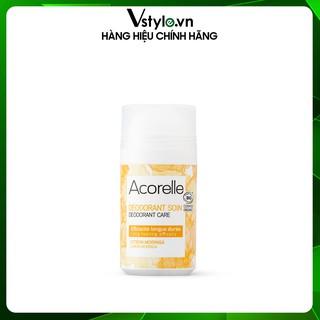 Lăn Khử Mùi  Hương Chanh và Chùm Ngây  Acorelle Deodorant Soin Citron Moringa 50ml