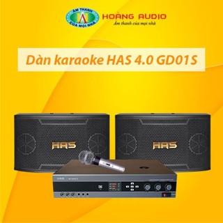 Bộ dàn karaoke gia đình HAS 4.0 GD01S thumbnail