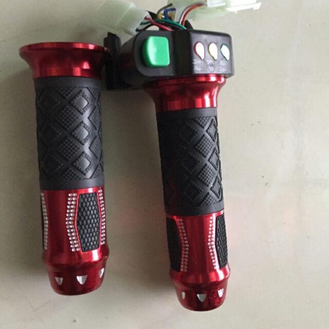 tay ga xe xmen có đèn báo (hàng loại 1)