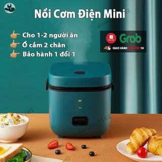 Nồi cơm điện mini đa năng JIASHI 1,2L JWS-6661B ( Nấu cơm ngon, nấu cháo, hầm, hấp luộc) cho 1 đến 2 người NCD01