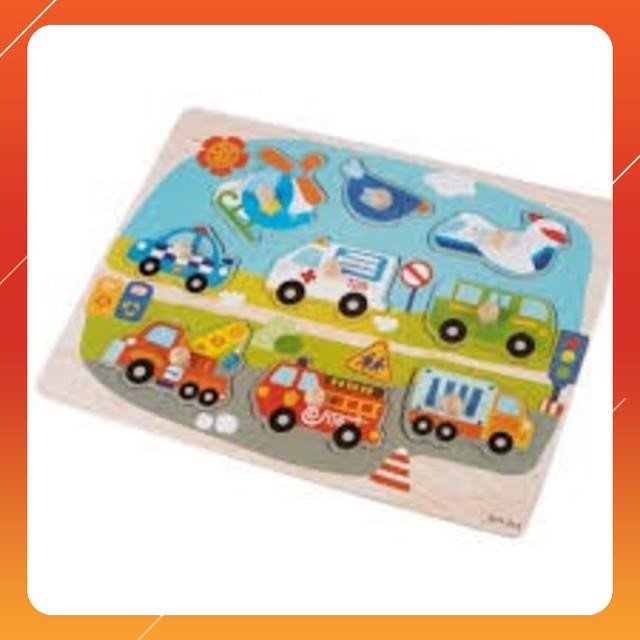 [SALE OFF] Bảng học các phương tiện giao thông mẫu 2 cho bé Vivitoys 085 | HÀNG MỚI