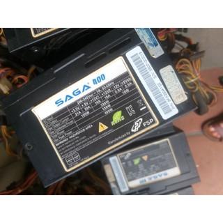 nguồn saga 400w có nguồn phụ 8 pin
