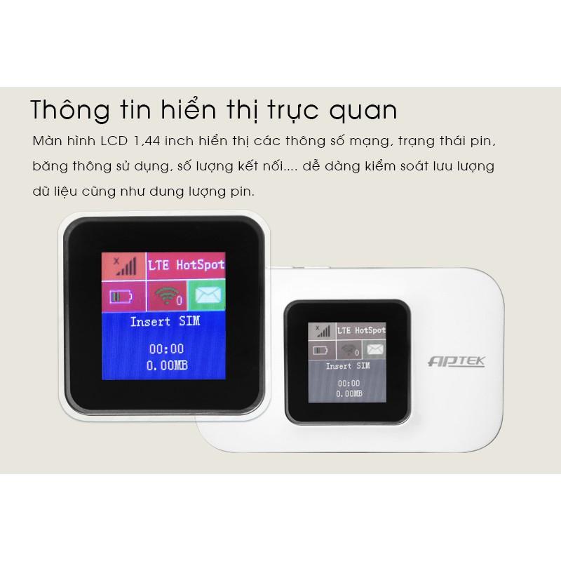 Bộ phát Wifi di động APTEK M2100 – Hàng chính hãng An Phát Giá chỉ 845.000₫