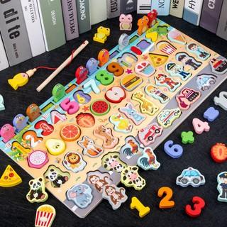 (MẪU MỚI)Đồ chơi bảng gỗ thông minh_động_vật
