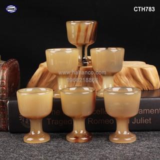 Ly sừng dùng để uống Rượu - thanh lọc giải độc và nhiệt [CTH783] HA thumbnail