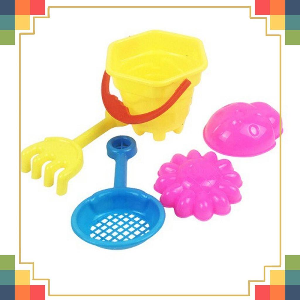 Bộ đồ chơi cát bãi biển- Bộ đồ chơi xúc cát đi biển cho bé loại tốt