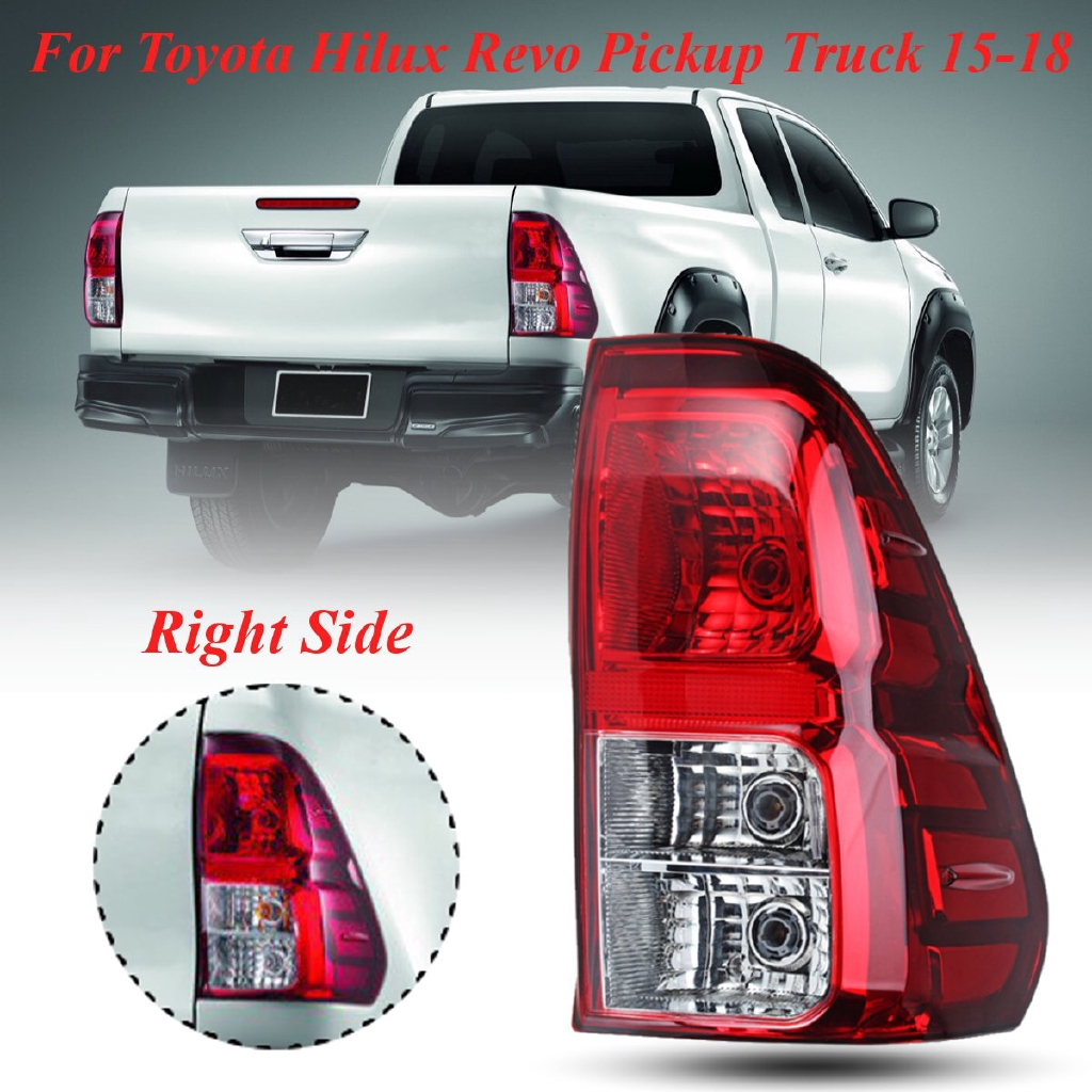 O/S Rear Right Tail Light lamp Fit For Toyota Hilux Revo pickup truck 2015-18