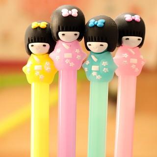 Bút nước cô gái Nhật Bản