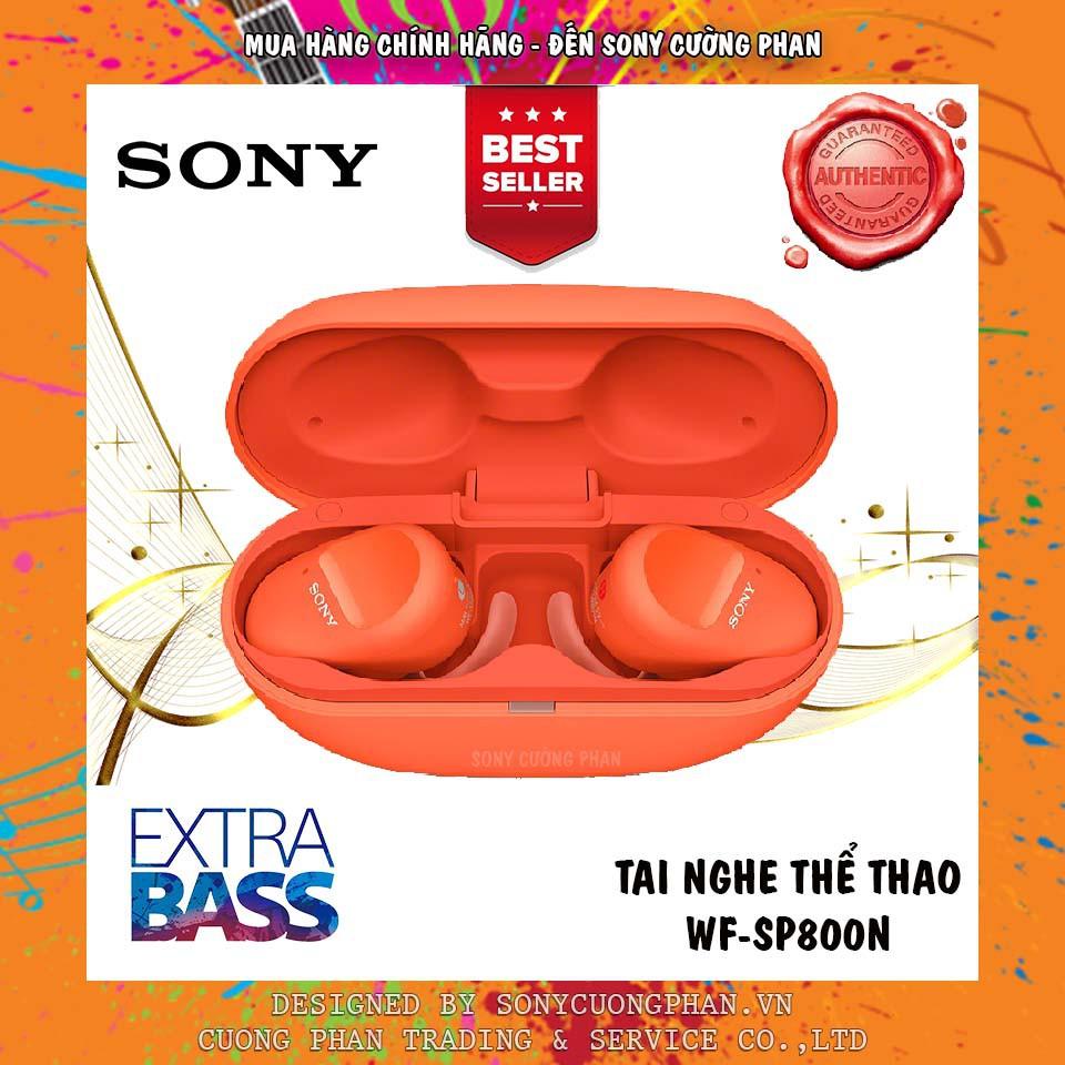 Tai Nghe Thể Thao Chống Ồn True Wireless Sony WF-SP800N - Bảo Hành Chính Hãng 12 Tháng