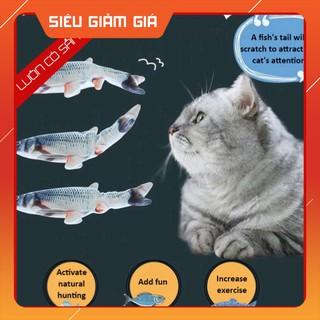 [GIẢM GIÁ] Đồ chơi trẻ em cá nhảy điện tử thông minh dùng cho bé trai gái, mèo con