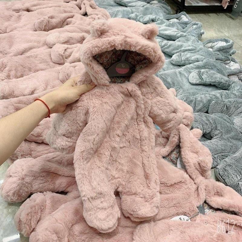 ủ lông hồng cho bé