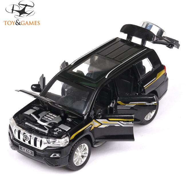 Children Cool Alloy Off-road Vehicle Pull Back Simulation Car Decoration Gifts for Kids