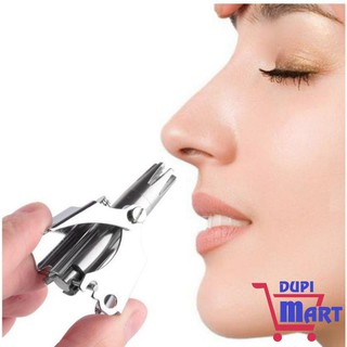 [SIÊU TIỆN ÍCH] Dụng cụ cắt tỉa lông mũi Kemei ES-108 bằng thép không gỉ cao cấp, máy cắt lông mũi an toàn tiện lợi