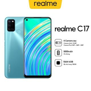 """[Mã ELRMBD1 giảm 100.000 đơn 2TR] Điện Thoại Realme C17 (6GB/128GB) - Hàng Chính Hãng giá chỉ còn <strong class=""""price"""">437.000.000.000đ</strong>"""