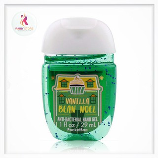 Gel rửa tay khô Bath & Body Works Vanilla Bean Noel 29ml thumbnail