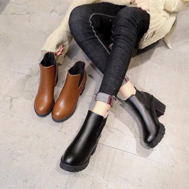 Bốt 7 phân đẹp êm chân