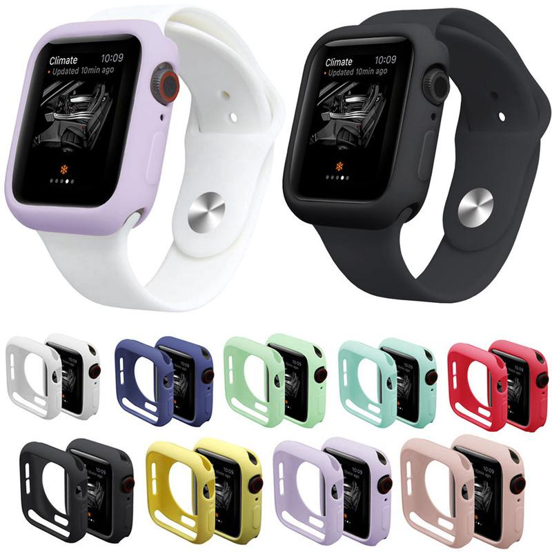 Ốp đồng hồ thông minh đeo tay cỡ 44MM 42MM 40MM 38MM tiện dụng cho Apple Watch 4 3 2 1