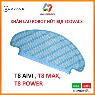 Khăn lau cho Robot hút bụi Ecovacs T8 aivi T8 max T8 Power phụ kiện Robot lau nhà