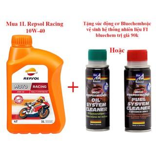 Dầu nhớt tổng hợp cao cấp xe số và xe tay côn Repsol Moto Racing 10W-40
