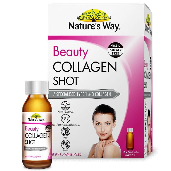 Collagen tươi, Beauty Collagen Shot, Hộp 10 lọ x 50ml thumbnail