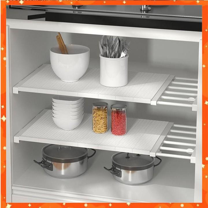 Kệ chia ngăn tủ quần áo - tủ bếp (BẢO HÀNH 1ĐỔI1) không khoan vít LOẠI CAO CẤP (HSN)