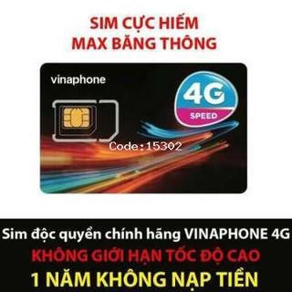 sim vinaphone max băng thông chính chủ bảo hành vĩnh viễn