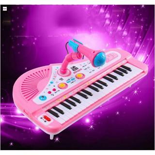 Đàn Organ điện tử kèm Micro Karaoke cho bé yêu tặng kèm 4 pin con thỏ Sản Phẩm Sáng Tạo