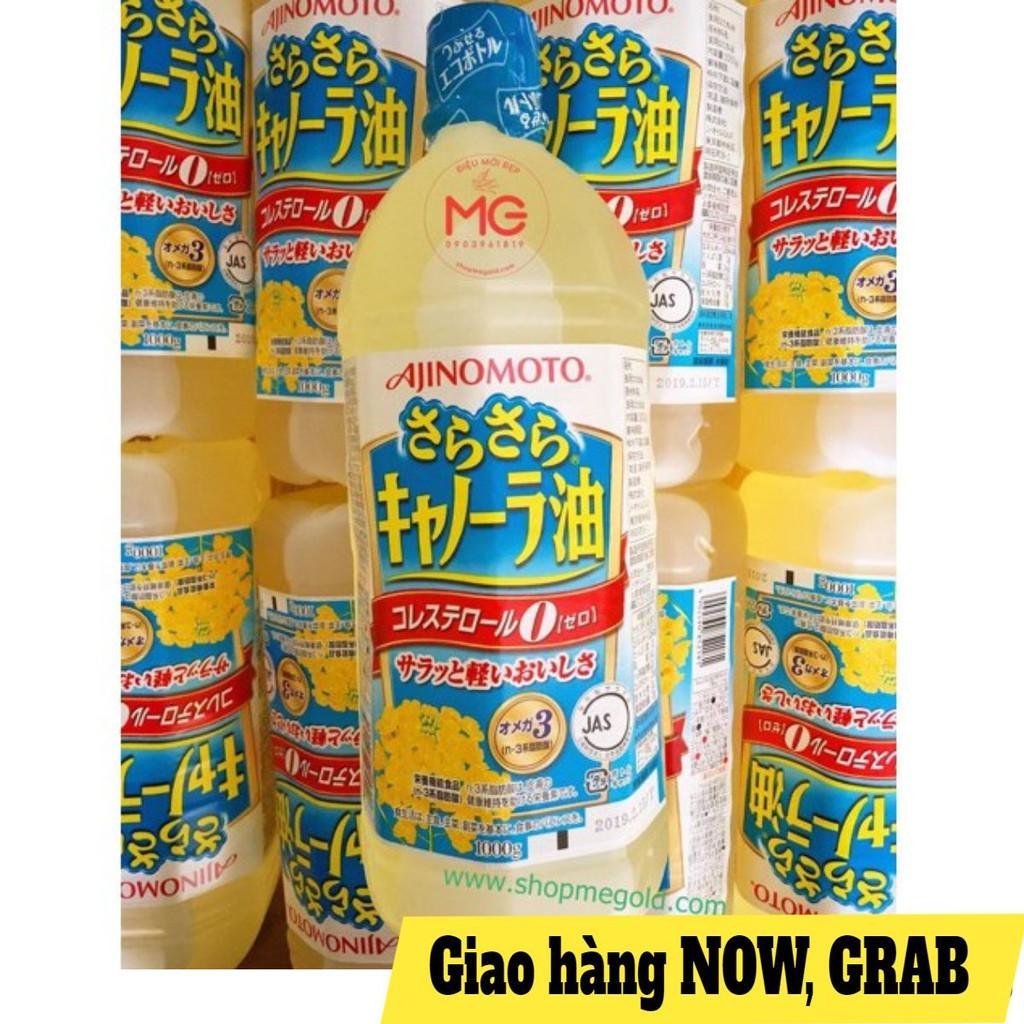 Dầu ăn hạt cải Ajinomoto nội địa Nhật Bản