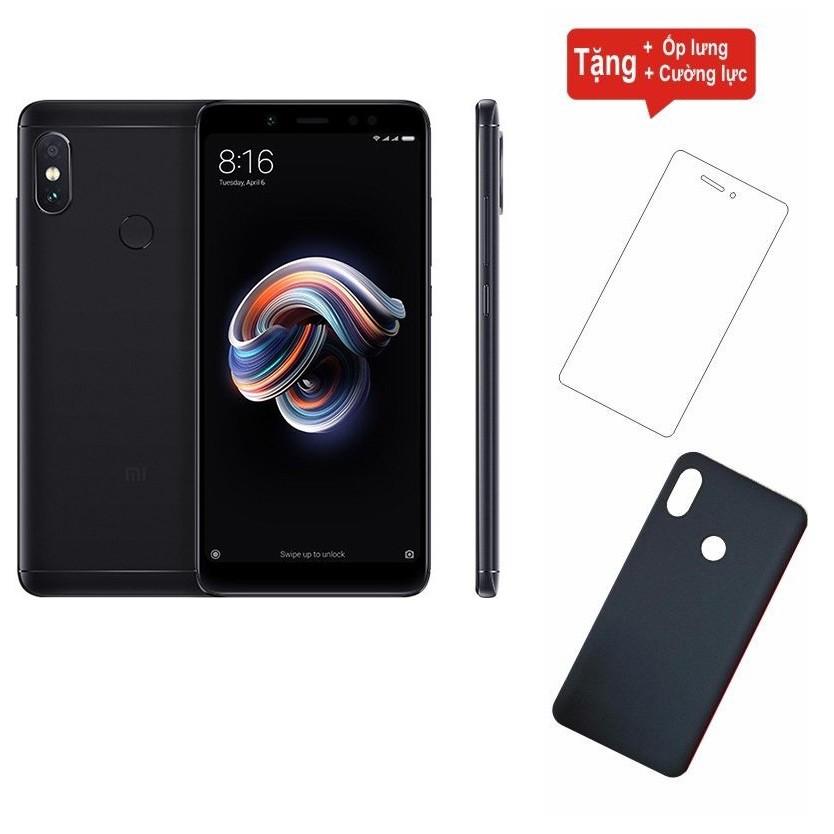 Điện thoại Xiaomi Redmi Note 5 Pro 64GB Ram 6GB + Cường lực + Ốp lưng - Hàng nhập khẩu - 2882717 , 1031194973 , 322_1031194973 , 5199000 , Dien-thoai-Xiaomi-Redmi-Note-5-Pro-64GB-Ram-6GB-Cuong-luc-Op-lung-Hang-nhap-khau-322_1031194973 , shopee.vn , Điện thoại Xiaomi Redmi Note 5 Pro 64GB Ram 6GB + Cường lực + Ốp lưng - Hàng nhập khẩu