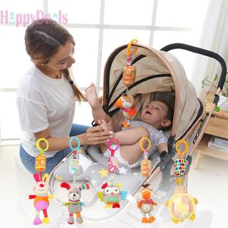 Hap Bed Wind Chimes Bed Hanging Rattles Toys Doll Cartoon Infant Plush Toy