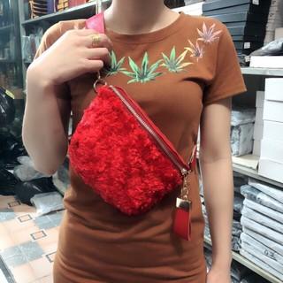 Túi đeo bụng ngực lông 2018 thumbnail
