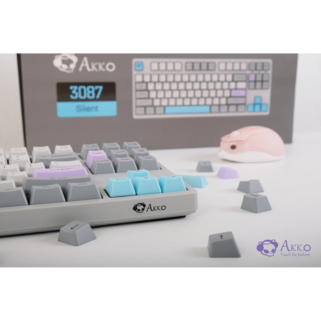 [Mã ELTECHZONE giảm 5% đơn 500K] Bàn phím cơ AKKO 3087 Silent (Akko switch) - Cổng USB