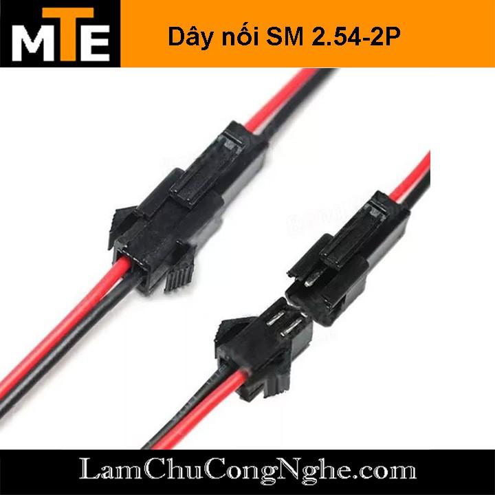 2 Cặp jack kết nối đực cái SM-2P 2.54mm