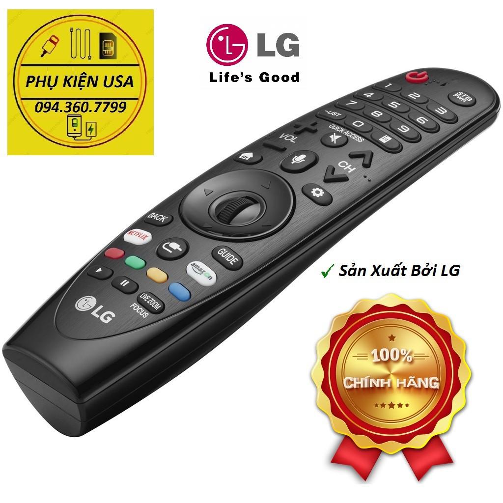 Điều Khiển thông minh LG Magic Remote AN-MR19BA - Hàng Chính Hãng cho SmartTV đời 2018, 2019 & 2020