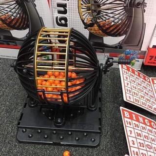 Lô tô lồng sắt quay Bingo 90 số – Loại Lớn